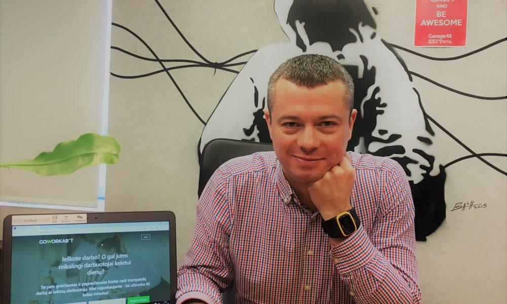 Meet Gediminas! He will make everybody to talk about #workbites :)