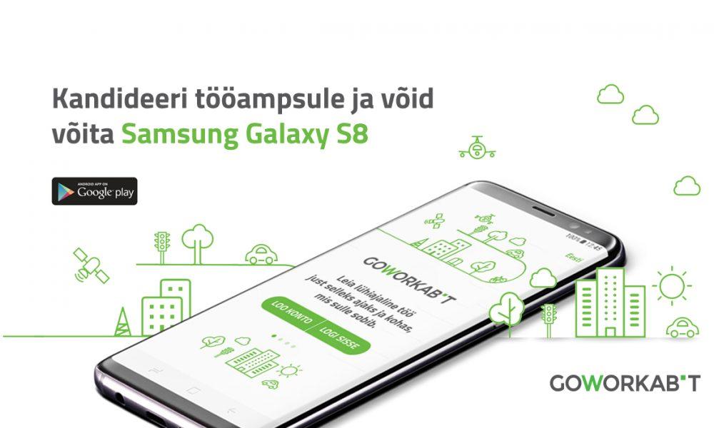 GoWorkaBit on nüüd ka mobiilis. Lae äpp alla ja võid võita ägeda telefoni!