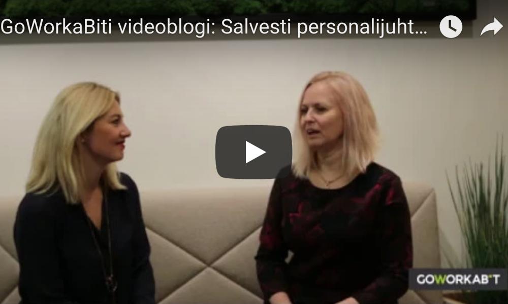 GoWorkaBiti videoblogi: Salvesti personalijuht räägib, mis teda kandideerijate juures häirib