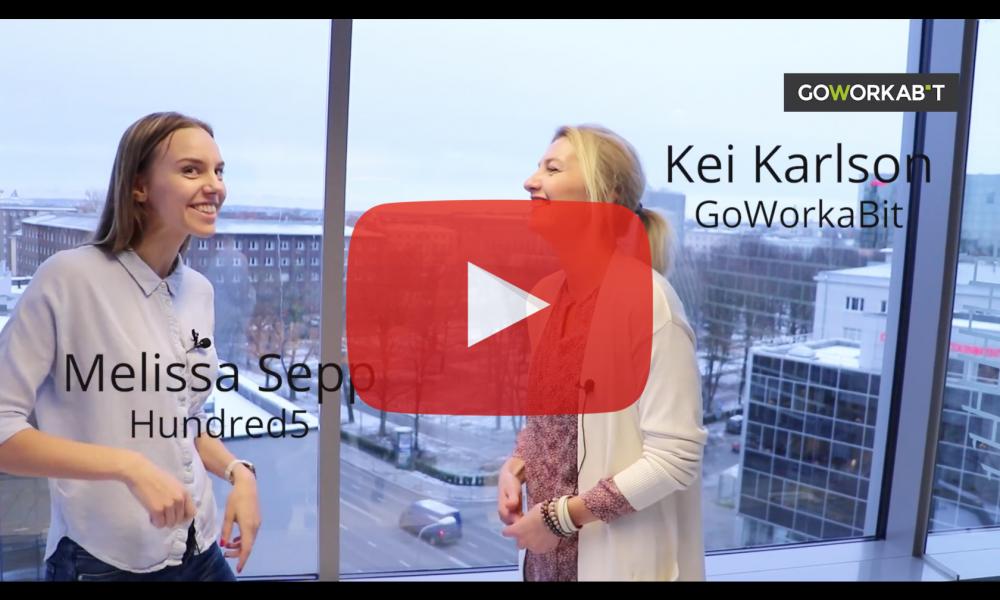 GoWorkaBiti videoblogi: kes on digi-nomaad ja kuidas Hundred5 aitab värbamisel?